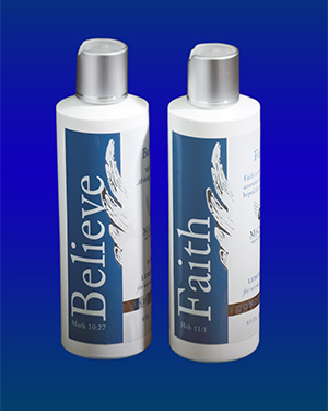 Believe Shampoo and Faith Conditioner
